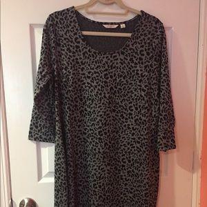 Liz Claiborne Long Sleeve Dress